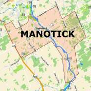 Manotick boundary map