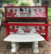 Piano in Mill St. Park